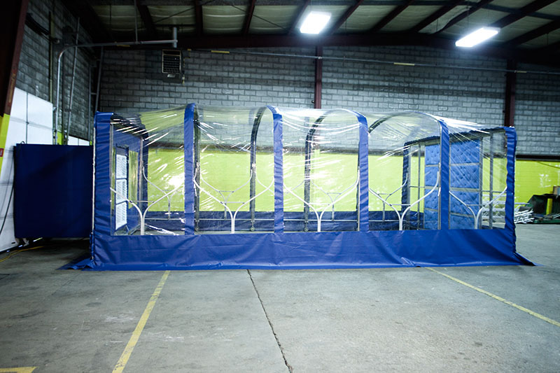 Mobile Portable Blast Booths